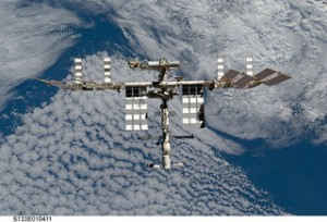 ISS; NASA via flickr