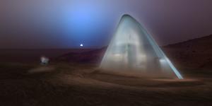 Mars icehouse