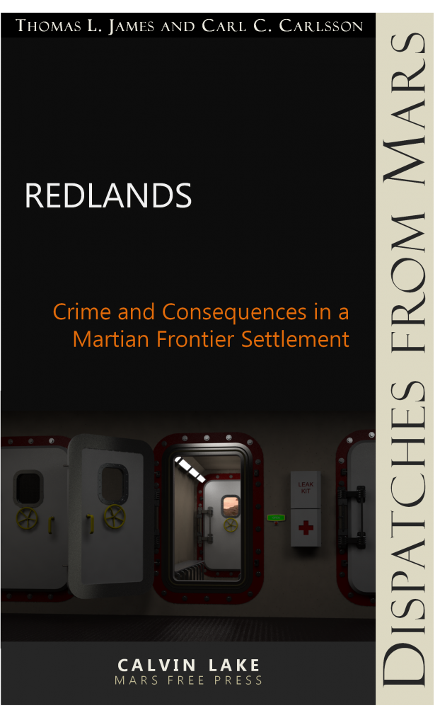 "Cover Art: ""Redlands"""